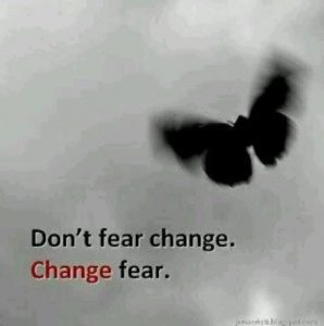 Don't fear Change