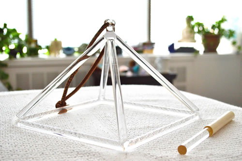 Crystal Pyramid for Healing and Manifesting | Reiki Toronto, Past