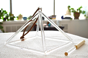 Vivian Osal | Quartz Crystal Pyramid